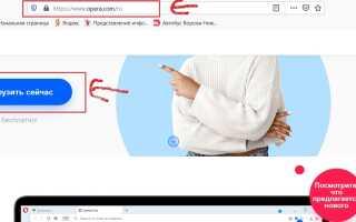 Как установить браузер опера на компьютер бесплатно